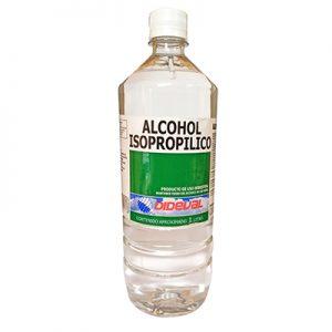 alcohol para limpiar