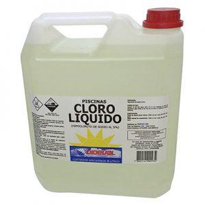 cloro liquido 5% Dideval