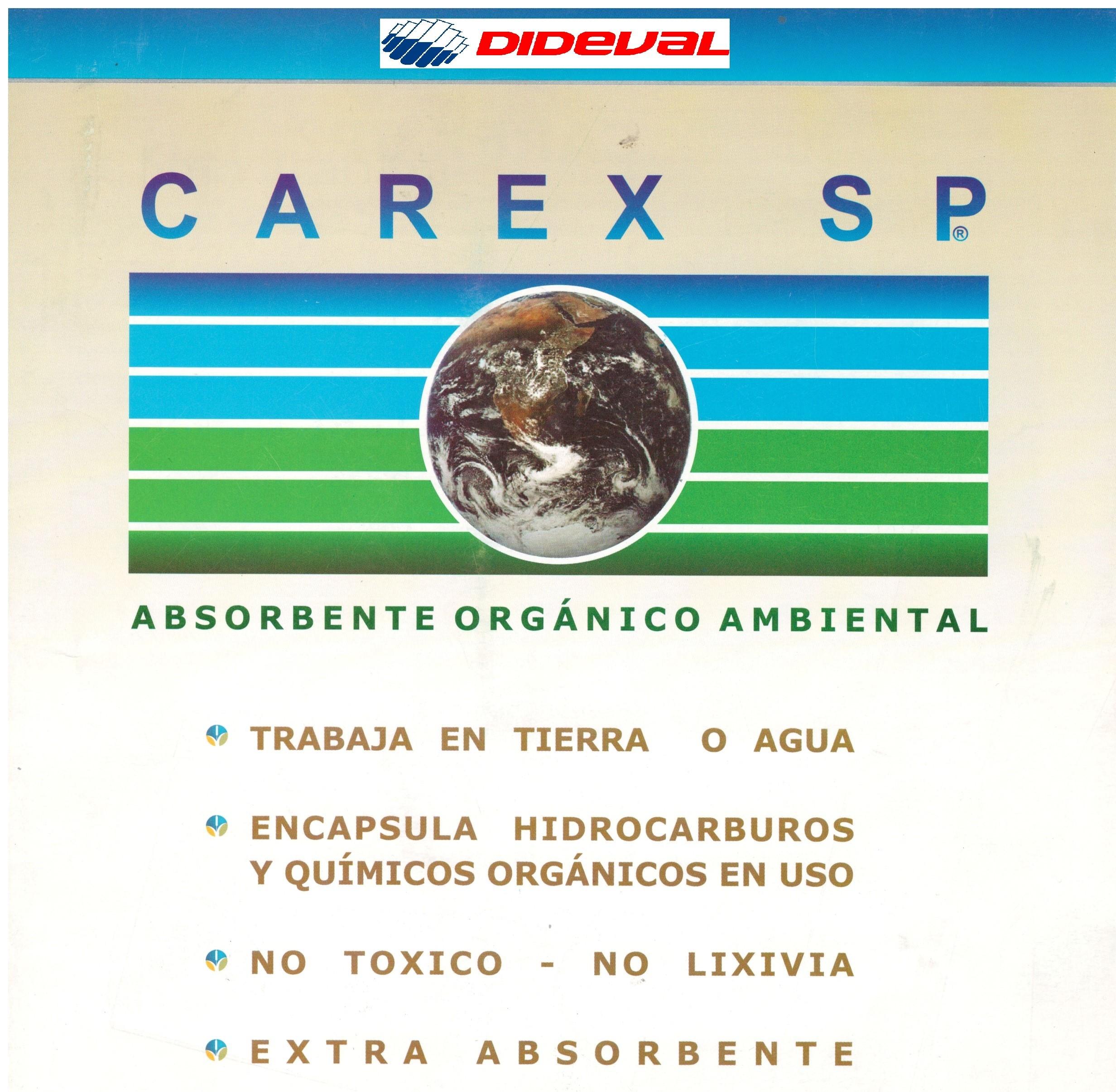 Absorbente orgánico ambiental CAREX SP